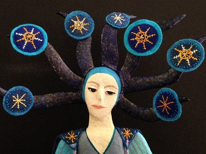 STAR SISTER by artist Ulla Anobile