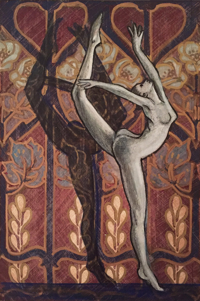 LAS BALLERINAS #65 (The Dancers) by artist Annette Hassell