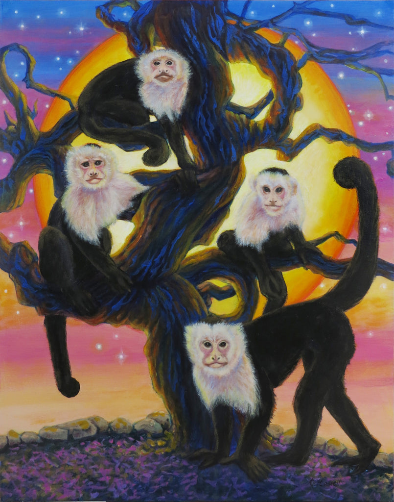 THE MONKEY'S TREE by artist Annette Hassell