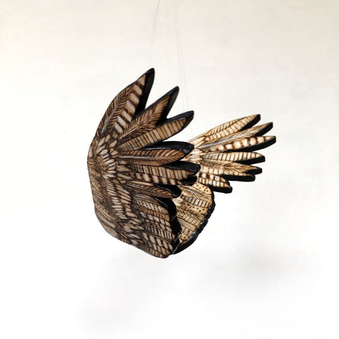TINY WOODEN WINGS by artist Samantha Jane Mullen