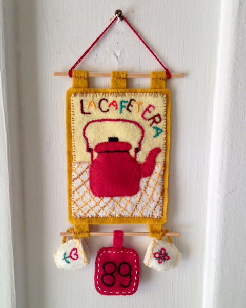 LA CAFETERA (The Coffee Pot) #89 by artist Ulla Anobile