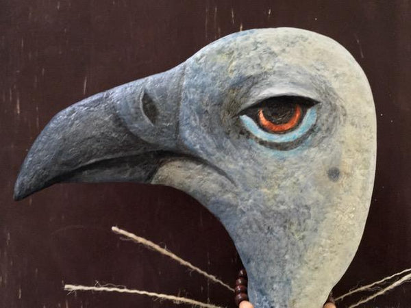 CAPE VULTURE by artist Ulla Anobile