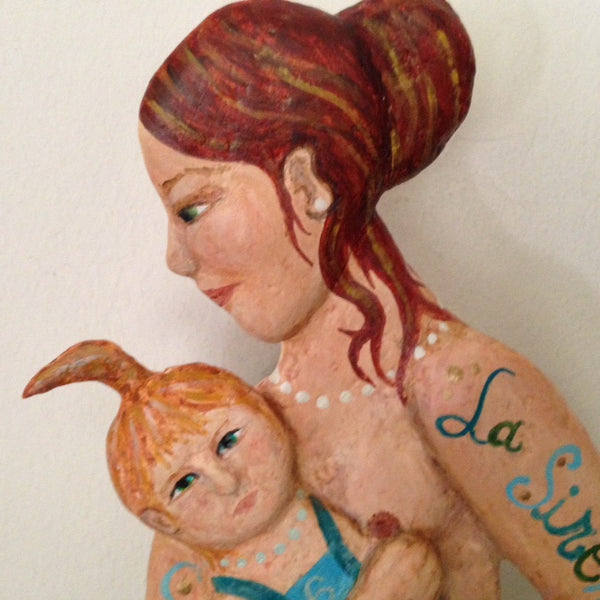 LA SIRENA aka Mermaid Mama (The Mermaid) #6 by artist Ulla Anobile