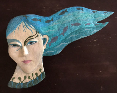 VELLAMO, Mistress of Waters by artist Ulla Anobile
