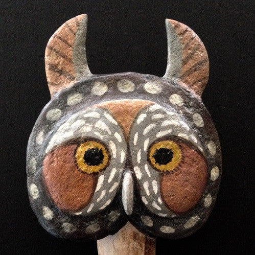 OWL MASK #2 by artist Ulla Anobile