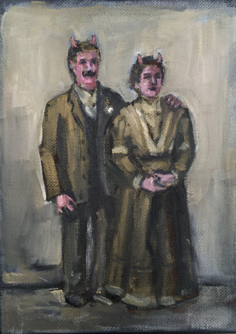 WALTER AND OLGA by artist Nancy Cintron