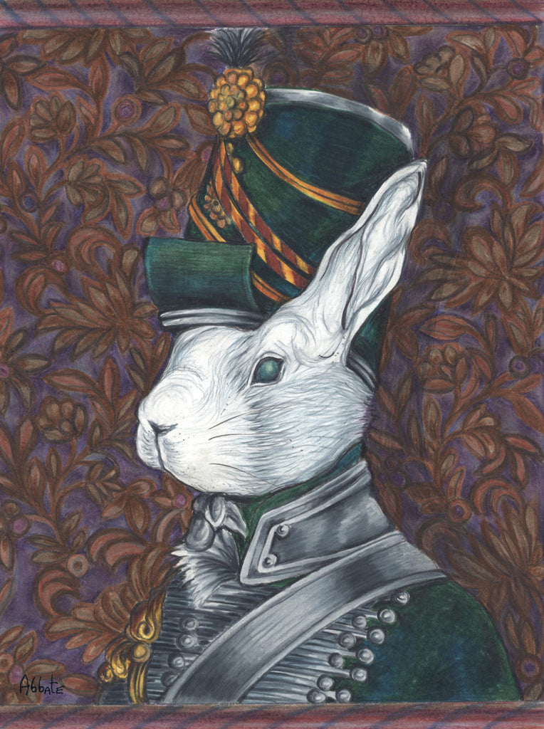 Wellington's Rabbit Army - Officer 2nd Light Battalion by artist Donna Abbate