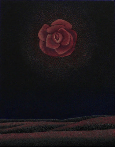 A FLOWER MOON by artist Janet Olenik