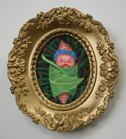 ROYAL BABY WORM by artist Olga Ponomarenko