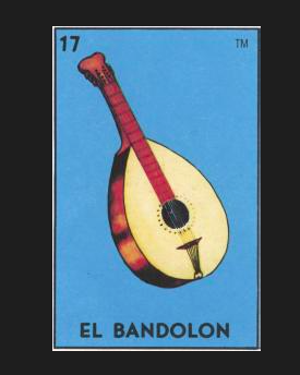 #17 EL BANDOLON (The Mandolin) by artist Olivier Castillon