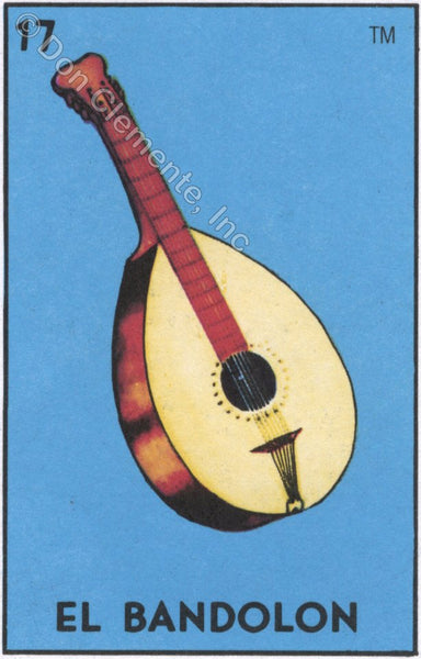 EL BANDOLON (The Mandolin) #17 by artist Samantha Mullen