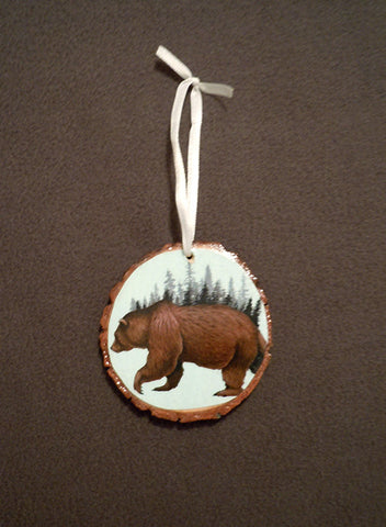 """Bear Ornament"" by artist Lena Sayadian"