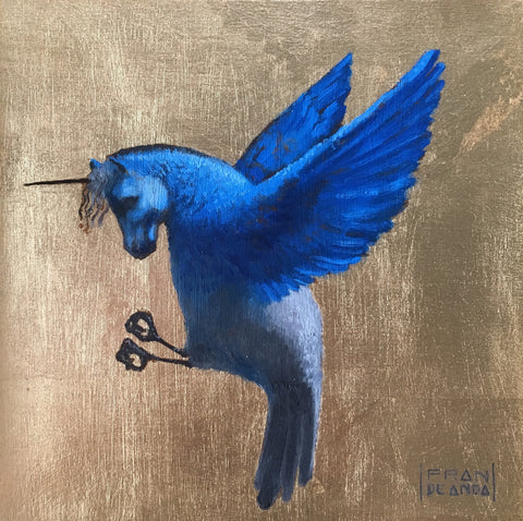 UNICORN BIRD by artist Fran De Anda