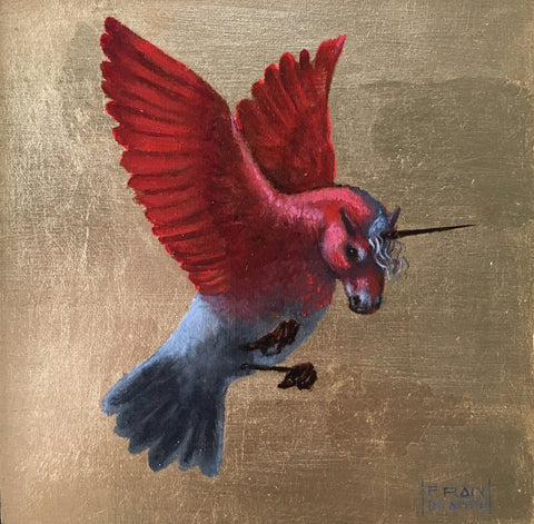 UNICORN BIRD II by artist Fran De Anda