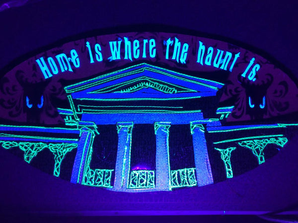HOME IS WHERE THE HAUNT IS by artist Lori Herbst
