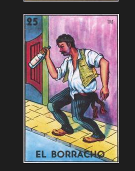 EL BORRACHO #25 (The Drunk) by artist Douglas Alvarez