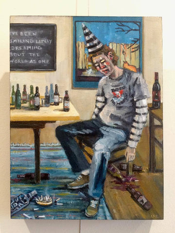 #25 EL BORRACHO (The Drunkard) by artist Nancy Cintron