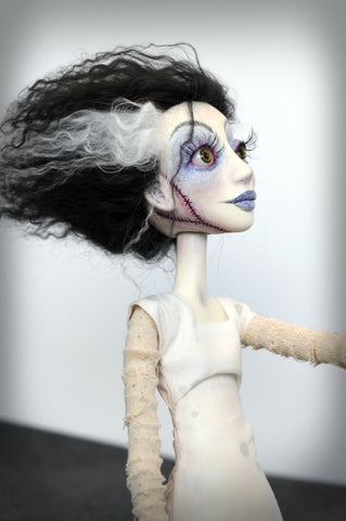 Bride of Frankenstein by artist Richelle Nicole