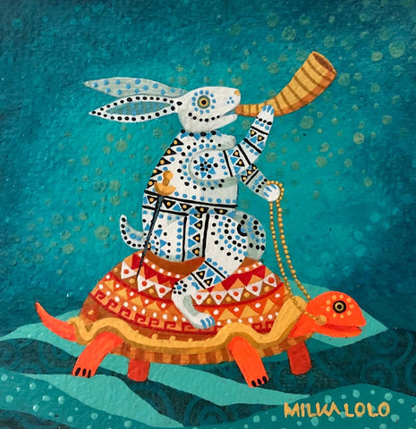 THE CALL by artist Milka LoLo