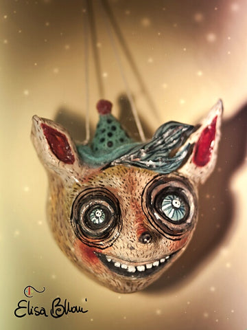 CAT by artist Elisa Belloni