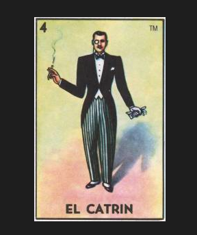#4 EL CATRIN (The Dandy) by artist Joe Vollan