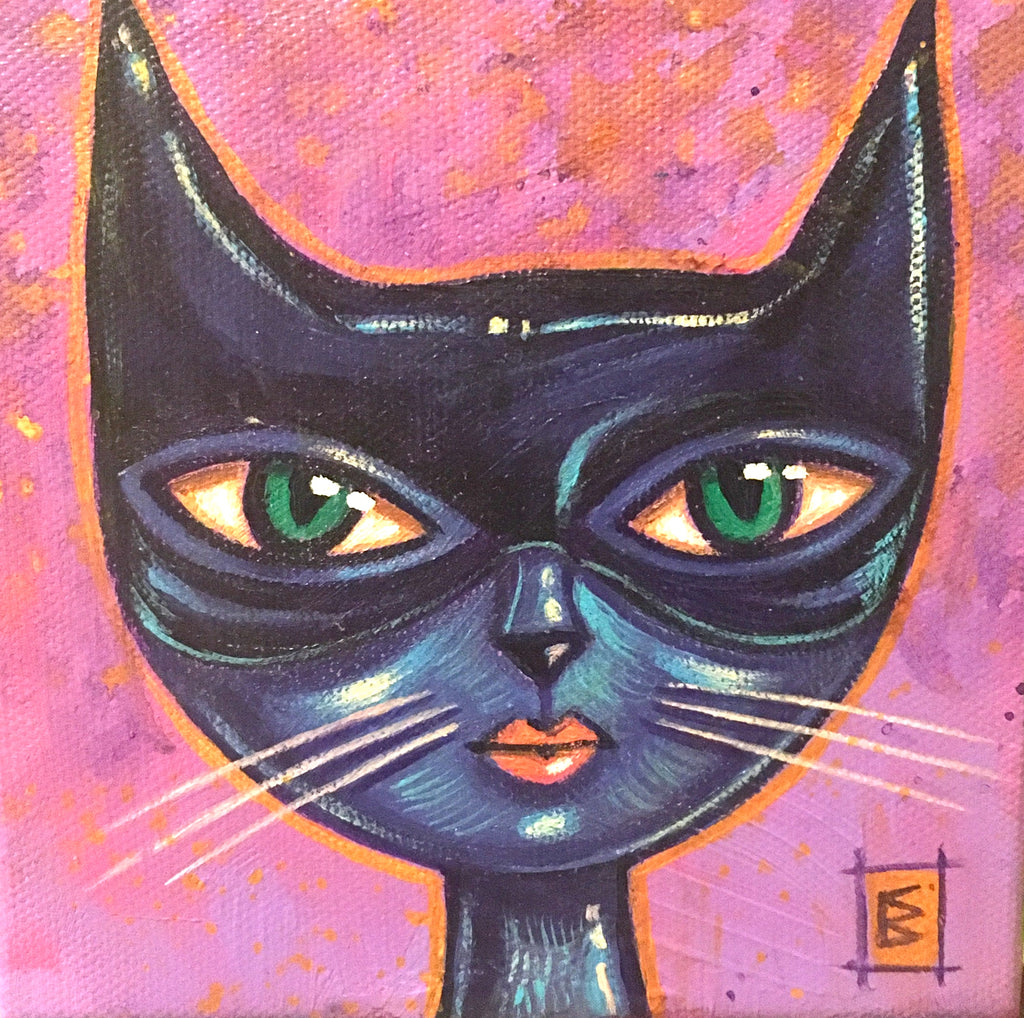 CAT POWER by artist Christine Benjamin