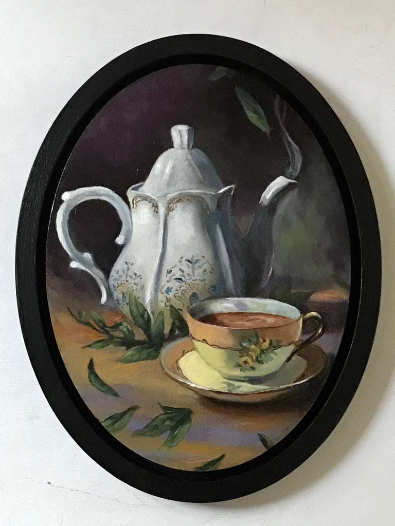 A LITTLE CUPPA by artist Catherine Moore