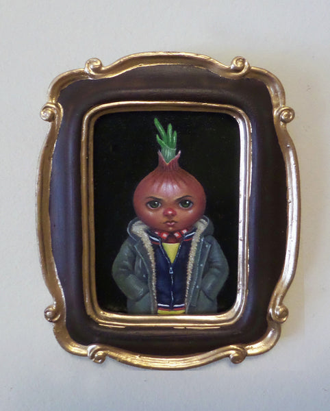 LA CEBOLLA (The Onion) #58 by artist Olga Ponomarenko