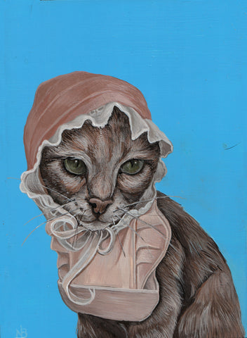 POOR KITTY by artist Nicole Bruckman