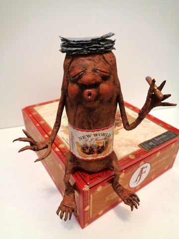Bob Cigar by artist Denise Bledsoe