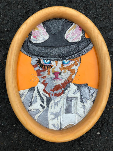 A CLOCKWORK GINGER by artist Lori Herbst
