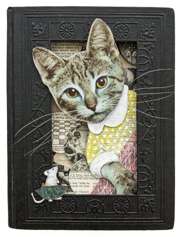A GAME OF CAT AND MOUSE by artist Valerie Savarie