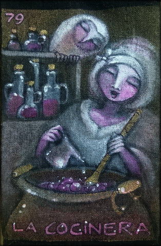 LA COCINERA (The Cook) #79 by artist Patricia Krebs