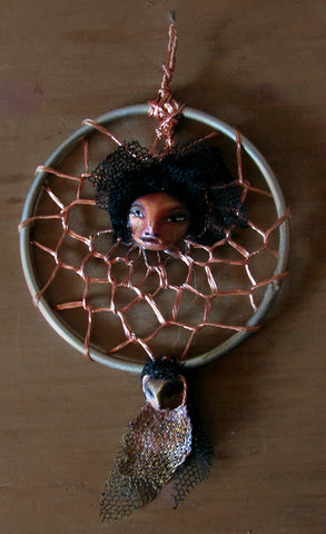 COPPER PENDANT by artist Patricia Krebs