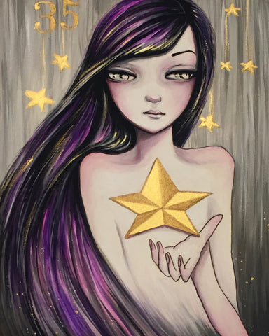 La Estrella #35 (The Star) by artist Ann Lim
