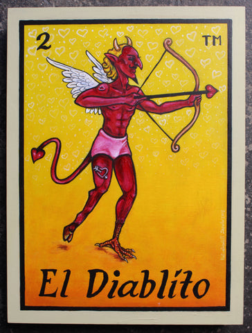 EL DIABLO #2 (The Devil) by artist Gabriela Zapata