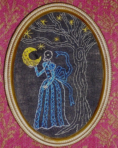 """Donum Luna (The Gift of the Moon)"" by artist Mavis Leahy"