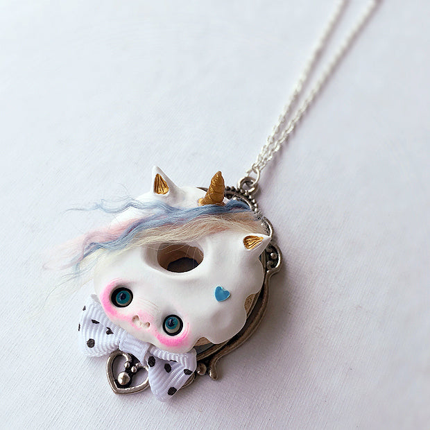 MAGIC UNICORN NECKLACE by artist Nobu Happy Spooky