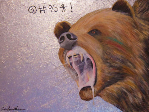 NAUGHTY BEAR by artist Douglas Alvarez