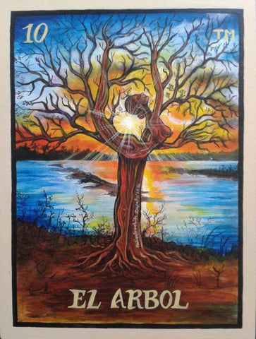 El arbol #10 (The Tree Woman) by artist Gabriela Malinalxochitl Zapata