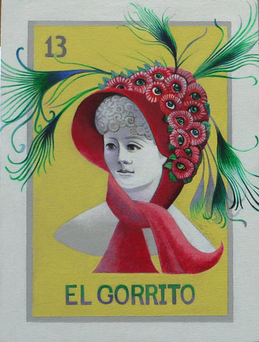 El gorrito #13 (The Bonnet) by artist Janet Olenik