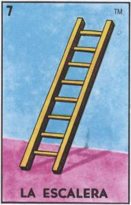 #7 LA ESCALERA (The Ladder) by artist Andrea Bogdan