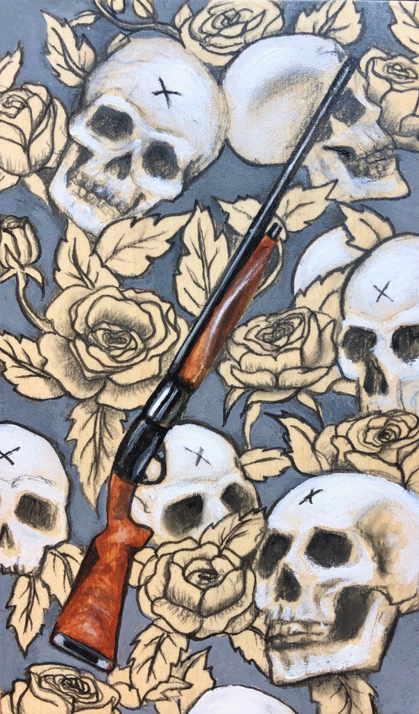 LA ESCOPETA (The Shotgun) #84 by artist Olympia Altimir