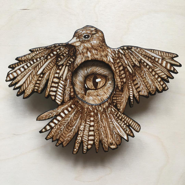 FIVE INCH FINCH II by artist Samantha Mullen