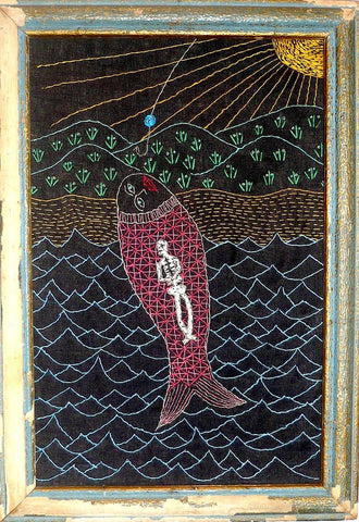 El pescado #50 (The Fish) by artist Mavis Leahy