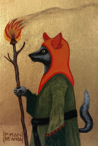 The Magician of the Flame by artist Fran De Anda