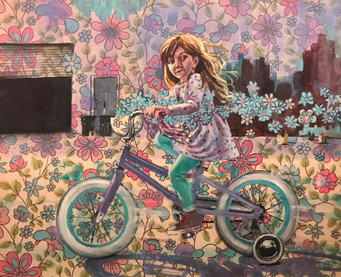 FLOWER GIRL by artist Lacey Bryant