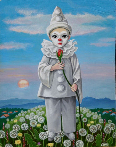 FOOL ON THE HILL by artist Olga Ponomarenko