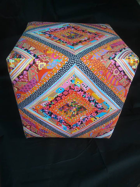 FOOT STOOL by artist Chris Rodriguez