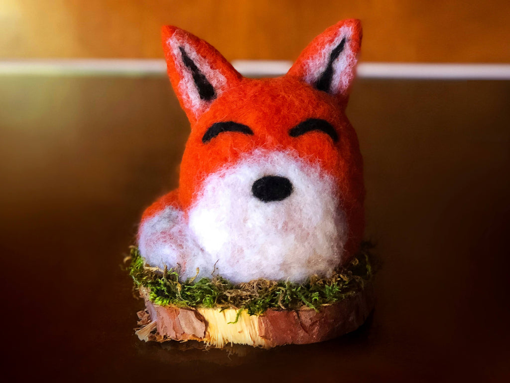 BIG FOX by artist Francesca Rizzato